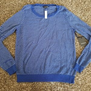 Trouve Bright Blue Sweater NWT